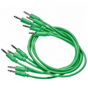 BMM patch cables, green, 9cm. ― Guitar-Supply.ru