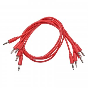 BMM patch cables, red, 75cm. ― Guitar-Supply.ru