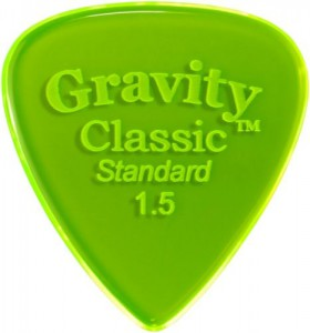 Gravity Classic Standard 1,5mm, unpolished ― Guitar-Supply.ru