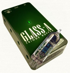 Effectrode Glass-A Triode Buffer ― Guitar-Supply.ru