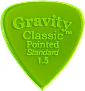 Gravity Classic Pointed Standard 1,5mm ― Guitar-Supply.ru