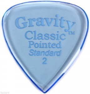 Gravity Classic Pointed Standard 2mm ― Guitar-Supply.ru