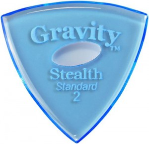 Gravity Stealth Standard Oval 2mm ― Guitar-Supply.ru