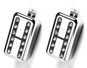 Lollar LollarTron Humbucker set, хром, комплект из двух штук. ― Guitar-Supply.ru