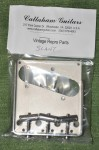 Vintage T Model Tele Bridge Assembly, steel comp