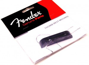 Fender Original Thumbrest, черный ― Guitar-Supply.ru