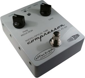 Effectrode Photo-Optical Tube Compressor ― Guitar-Supply.ru