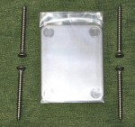 Stainless Steel Neck Plate, satin
