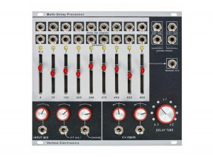 Verbos Multi-Delay Processor  ― Guitar-Supply.ru